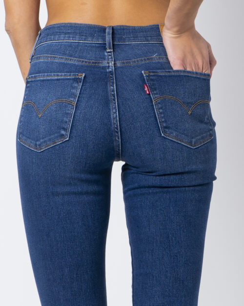 Jeans skinny Levi's® 720 HIRISE FIERY ISLAND WARM Denim - Foto 4