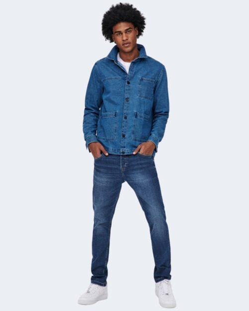Jeans slim Only & Sons LOOM Blue Denim – 63285