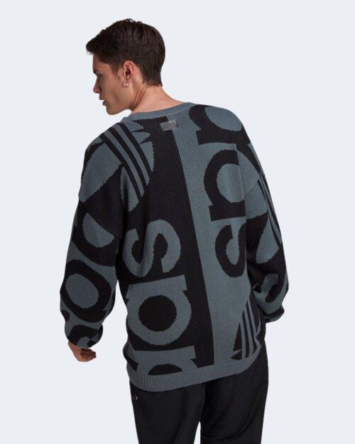 Maglione Adidas FSHN KNIT CREW Blu – 72690