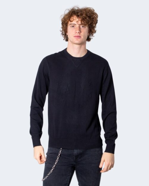 Maglione Armani Exchange Pullover Knitted Nero – 40668