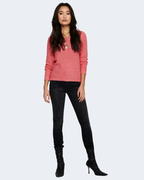 Maglione Only GEENA COLOR Pesca – 53063