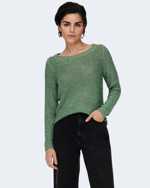 Maglione Only GEENA COLOR Verde – 53063