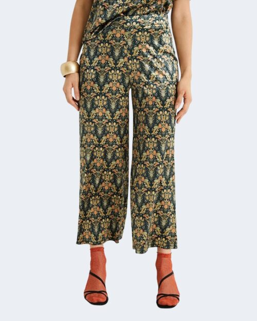 Pantaloni a palazzo Desigual vilafranca Oro – 72658