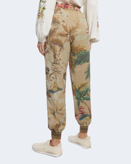 Pantaloni Desigual TOUCHE Beige scuro - Foto 2