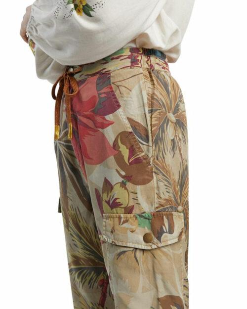 Pantaloni Desigual TOUCHE Beige scuro - Foto 3