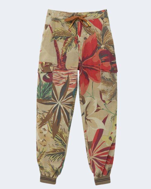 Pantaloni Desigual TOUCHE Beige scuro - Foto 4