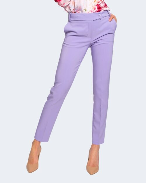 Pantaloni da completo Rinascimento CREPE STRETCH Lilla – 68047