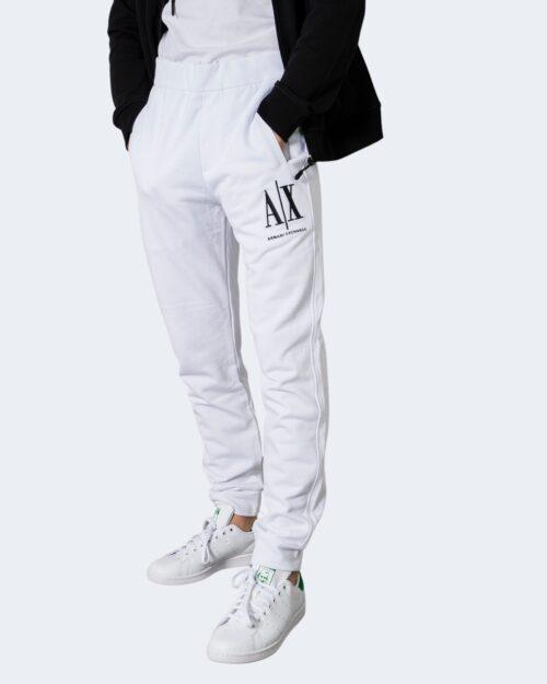 Pantaloni sportivi Armani Exchange TROUSER 8NZPPA ZJ1ZZ Bianco – 72528