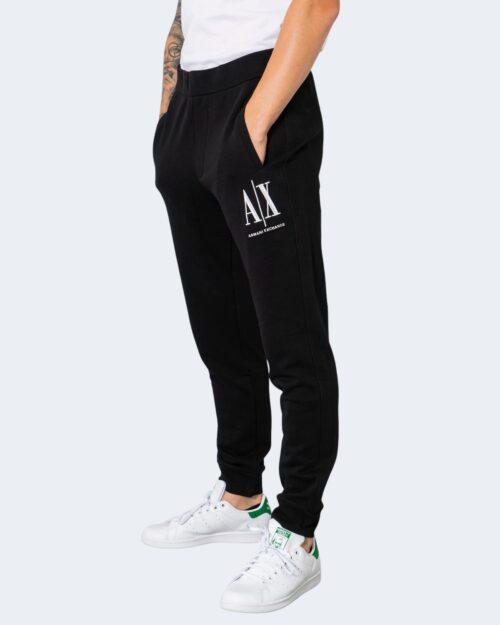 Pantaloni sportivi Armani Exchange TROUSER 8NZPPA ZJ1ZZ Nero – 72528
