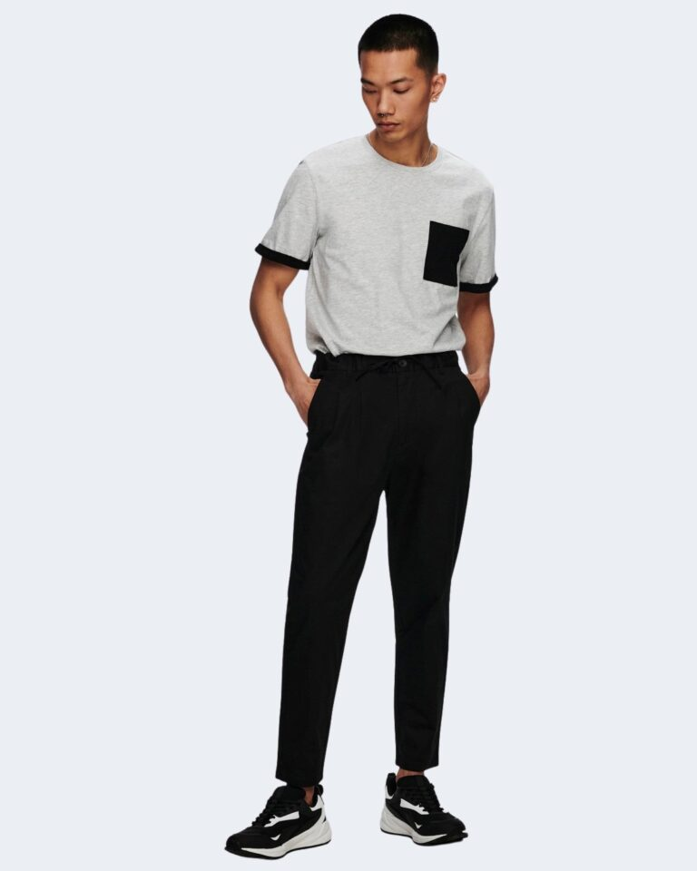 Pantaloni tapered Only & Sons DEW CASH Nero - Foto 2
