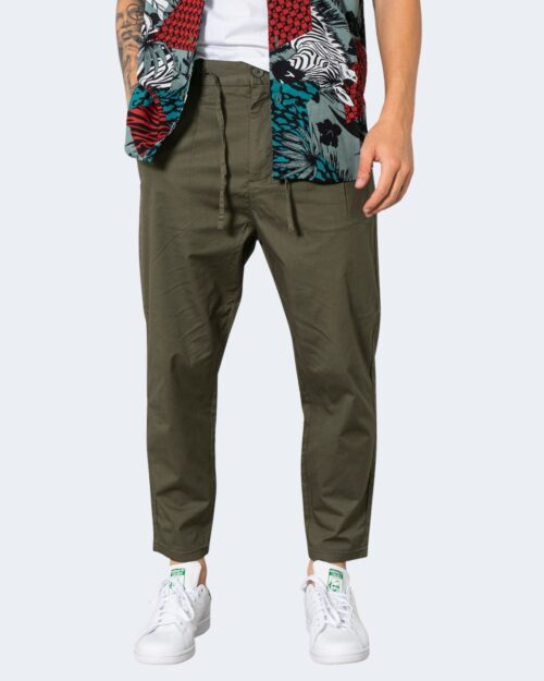 Pantaloni tapered Only & Sons DEW CASH Verde Oliva – 72916