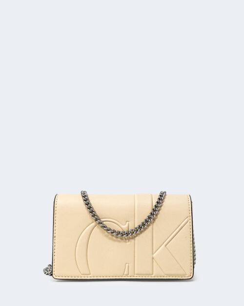 Portafoglio grande Calvin Klein PHONE CROSSBODY Beige – 71728