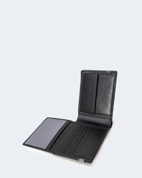Portafoglio con portamonete Alviero Martini Prima Classe MAN WALLET Nero – 72642