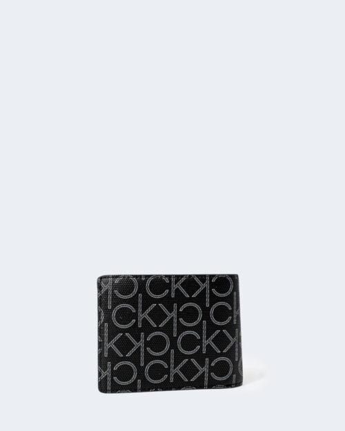 Portafoglio con portamonete Calvin Klein BIFOLD Nero – 72795