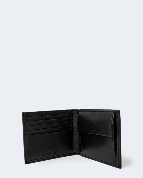 Portafoglio con portamonete Calvin Klein BIFOLD 5CC W/COIN Nero – 72813