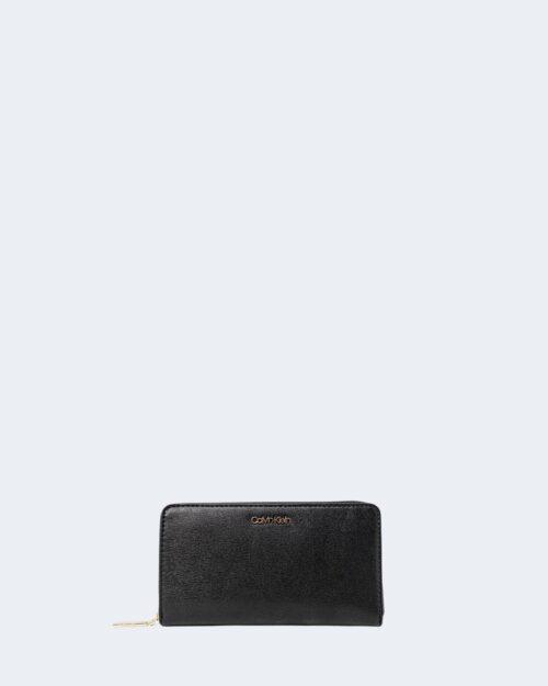 Portafoglio grande Calvin Klein SAFFIANO Nero – 71729