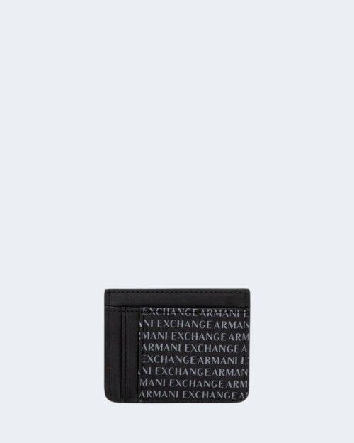 Portacarte Armani Exchange PORTACARTE DI CREDITO Nero – 21408