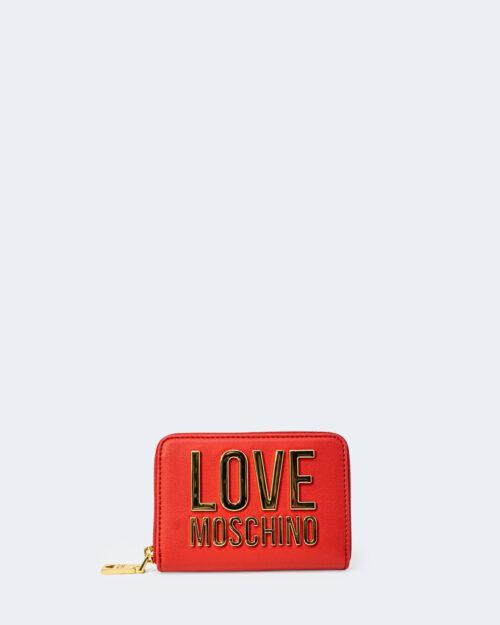 Portafoglio piccolo Love Moschino – Rosso – 72960