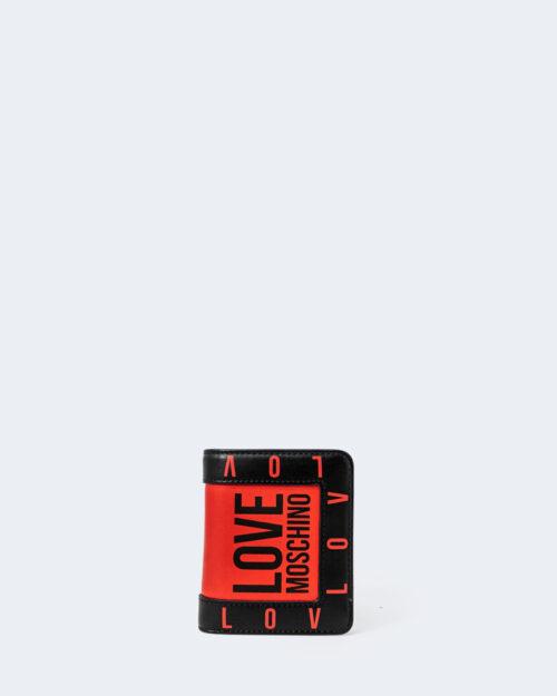 Portafoglio piccolo Love Moschino CONTORNO Rosso – 72958