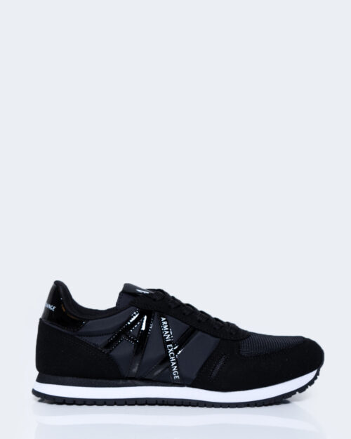 Sneakers Armani Exchange LOGO LUCIDO Nero – 54129