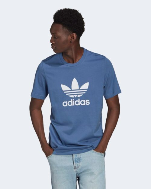 T-shirt Adidas TREFOIL Blu – 72749