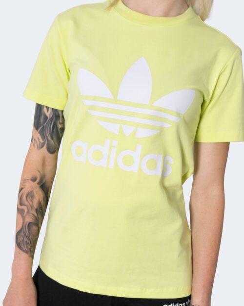 T-shirt Adidas TREFOIL TEE Giallo fluo – 72931