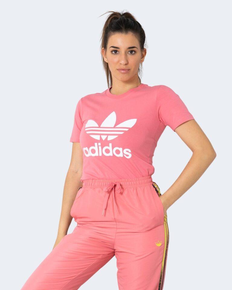 T-shirt Adidas TREFOIL TEE Rosa - Foto 1
