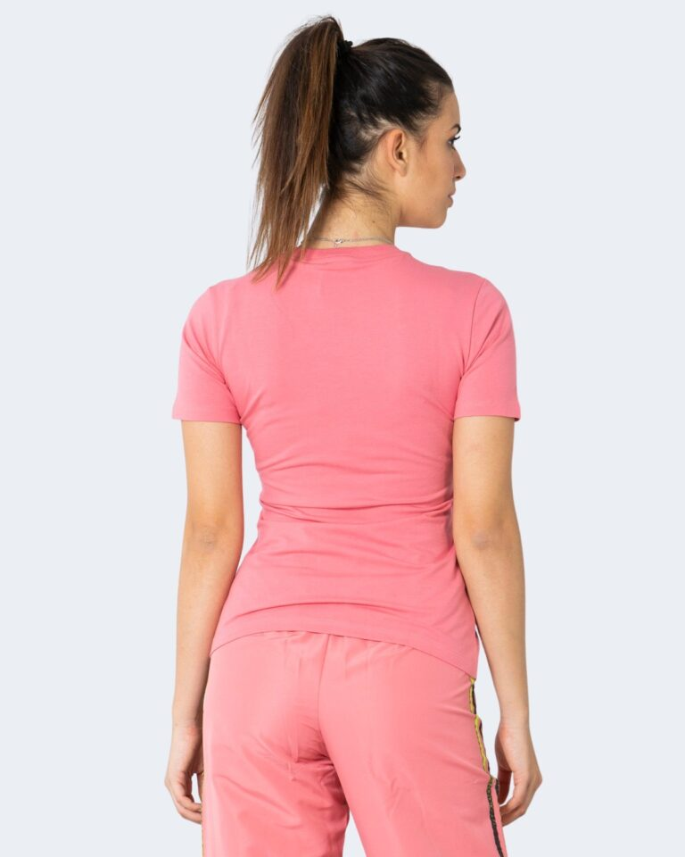 T-shirt Adidas TREFOIL TEE Rosa - Foto 3