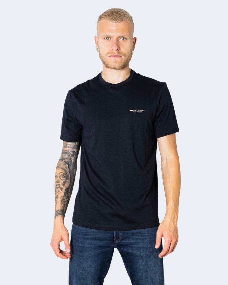 T-shirt Armani Exchange - Blue scuro - Foto 1