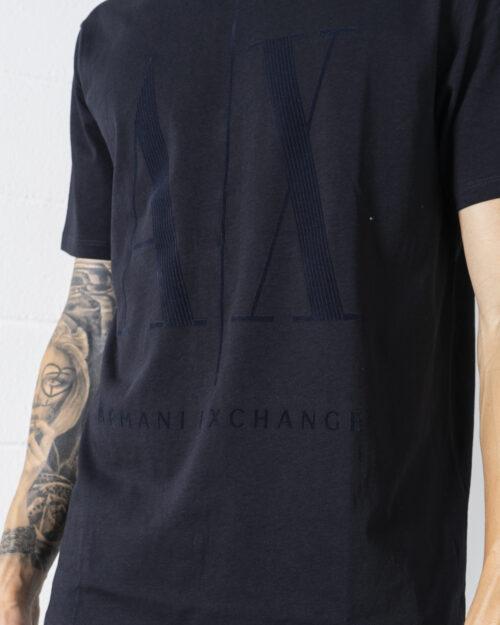 T-shirt Armani Exchange – Blue scuro – 72532