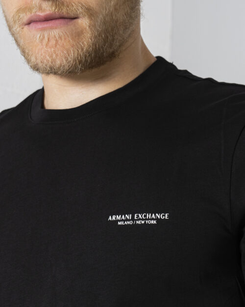T-shirt Armani Exchange - Nero - Foto 2