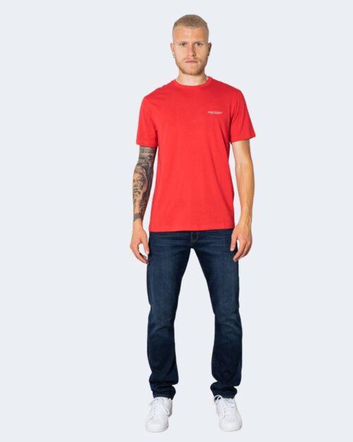 T-shirt Armani Exchange LOGO PICCOLO Rosso – 71531