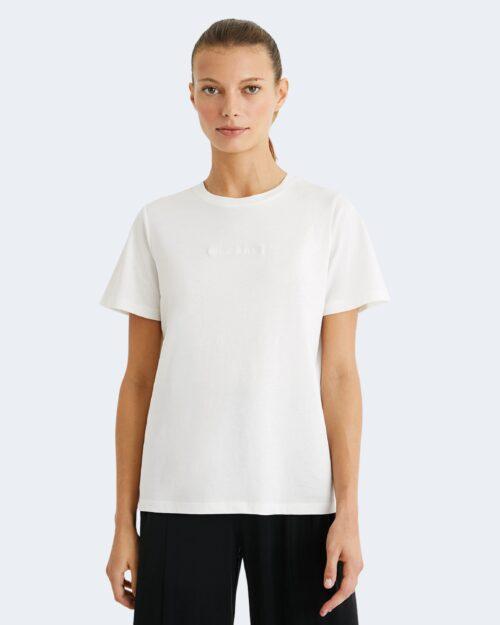 T-shirt Desigual TEE MANDALA BACK 21SOTK13 Bianco – 65519
