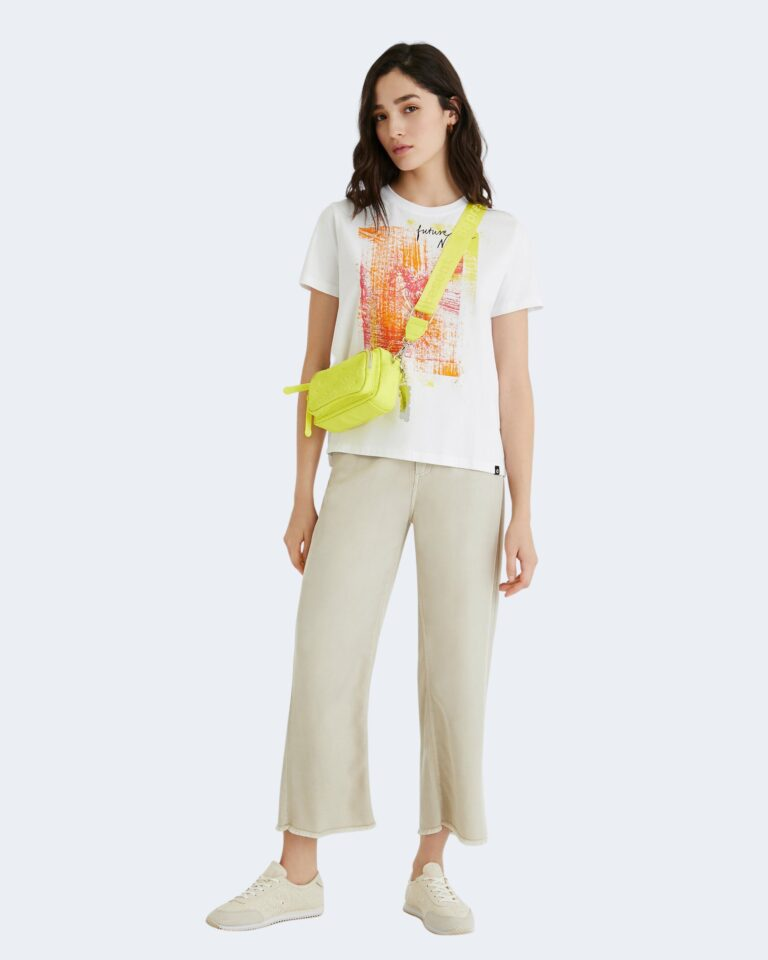 T-shirt Desigual AMSTERDAM Bianco - Foto 2