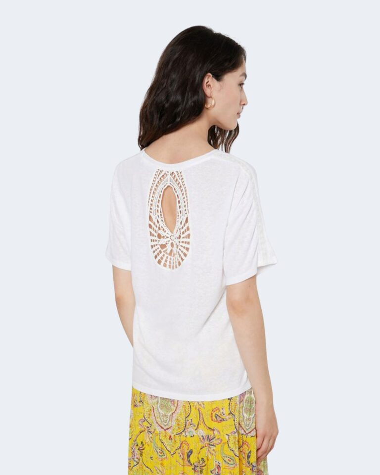 T-shirt Desigual CLEMENTINE Bianco - Foto 2