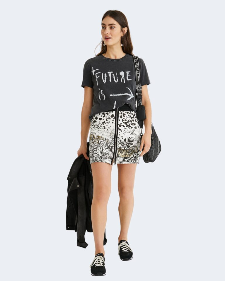 T-shirt Desigual FUTURE Nero - Foto 2