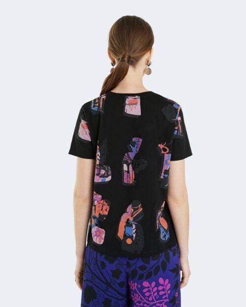 T-shirt Desigual SIENA Nero - Foto 3