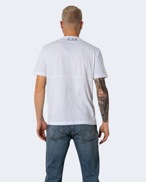 T-shirt EA7 - Bianco - Foto 3