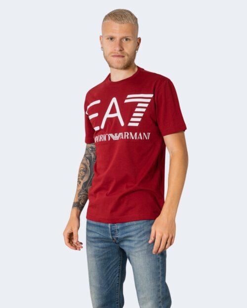 T-shirt Ea7 – Bordeaux – 72763