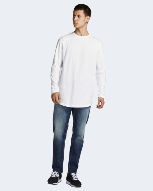 T-shirt Jack Jones JJENOA TEE O-NECK LS NOOS – 12190128 Bianco – 71743