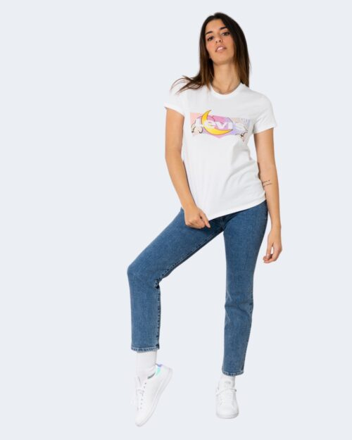 T-shirt Levi's® THE PERFECT TEE BATWING DREAMING FILL WHIT Bianco – 72664