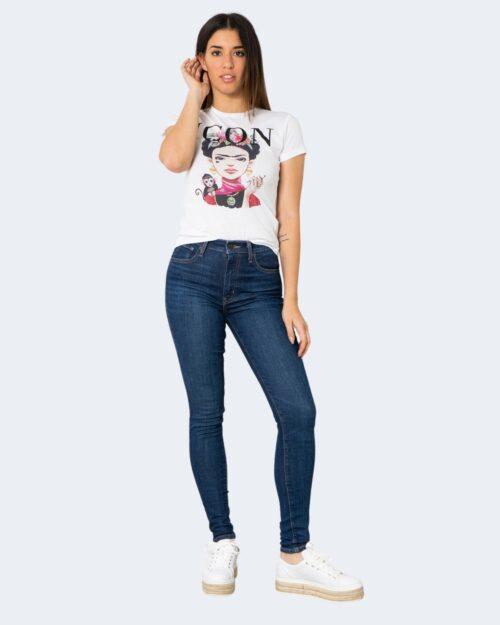 T-shirt Narciso FRIDA MONKEY Bianco – 72672