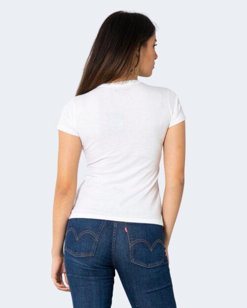 T-shirt Hiconika FRIDA MONKEY Bianco - Foto 4