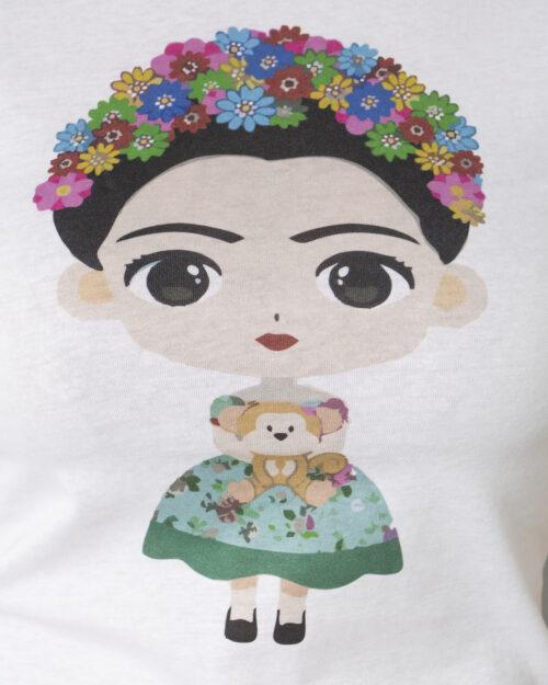 T-shirt Narciso GIRL POWER MATT Bianco – 72681