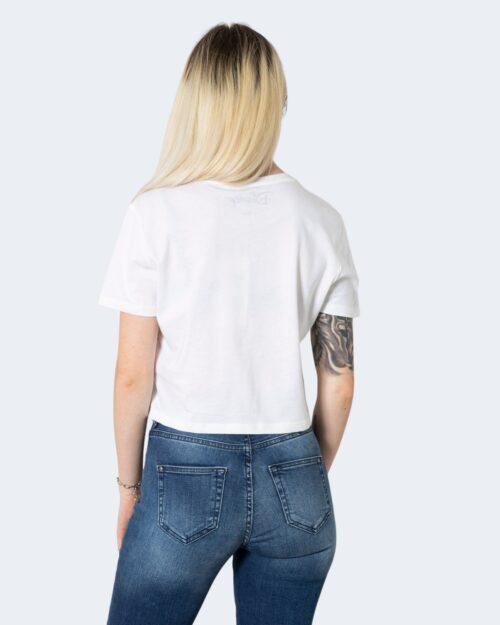 T-shirt Only ONLDISNEY LIFE CROPPED S/S TOP BOX JRS - 15235934 Bianco - Foto 3