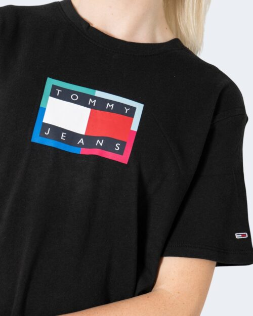 T-shirt Tommy Hilfiger RELAXED MULTI Nero – 72178