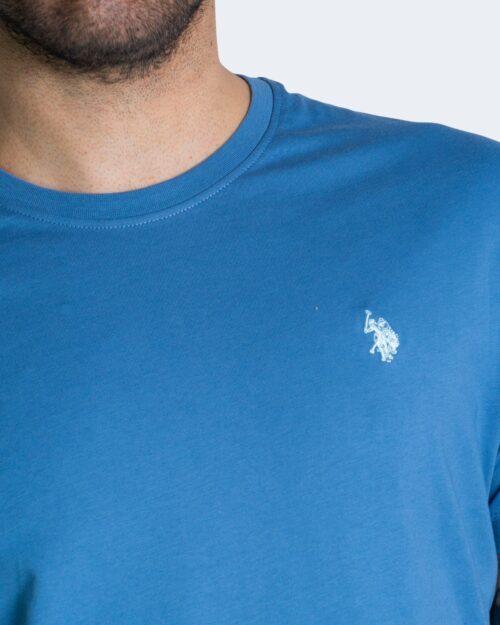 T-shirt U.s. Polo Assn. HORSE LOGO Blu Chiaro – 67803