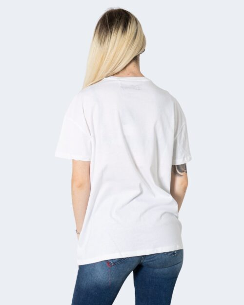 T-shirt Only ONLDISNEY LIFE OVERSIZE S/S TOP BOX JRS - 15235935 Bianco - Foto 4