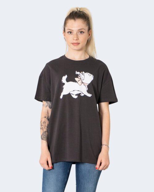 T-shirt Only ONLDISNEY LIFE OVERSIZE S/S TOP BOX JRS – 15235935 Grigio Scuro – 63390