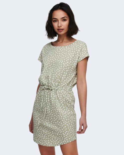 Vestito corto Only MAY Verde – 71708